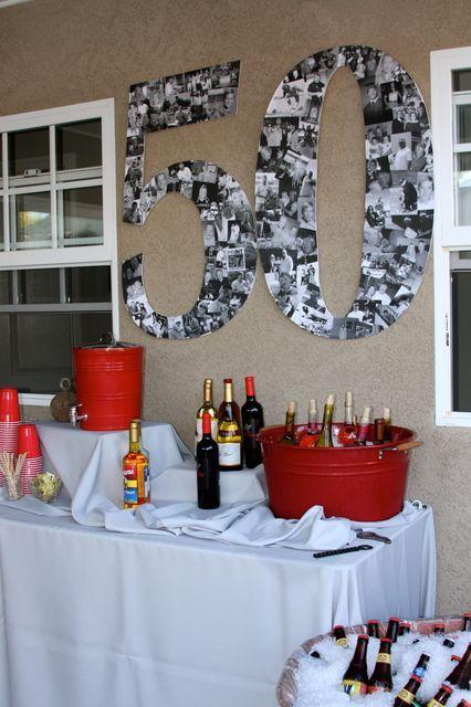 Vijftigste verjaardag vieren