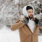 Heren handschoenen perfect tegen de kou!